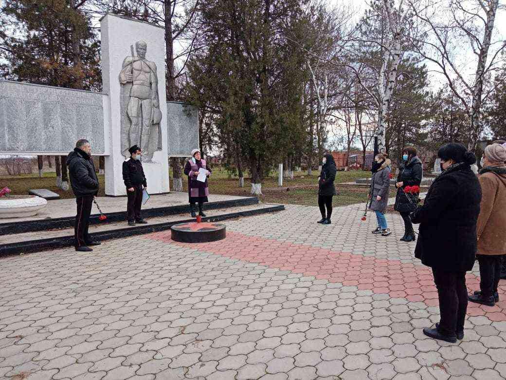 78 лет со Дня освобождения станицы Шкуринской и Кущевского района от немецко-фашистских захватчиков