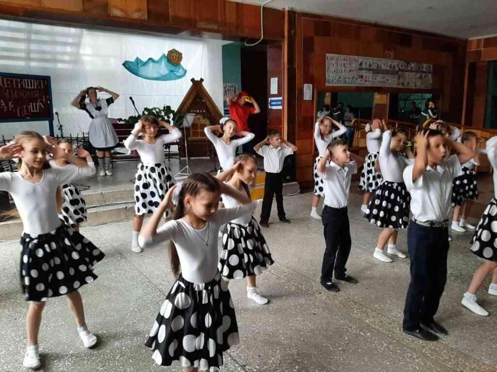 Концертно-развлекательное  мероприятие «Детишки –шалунишки»